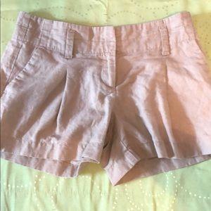 Ann Taylor Shorts - Ann Taylor Lined / Cotton Khaki Shorts 0